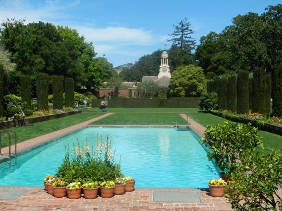 View of Garden Shop from Pool House - Picture of Filoli, Woodside ...