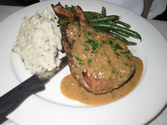 L'Osteria: Pork Chop Dinner
