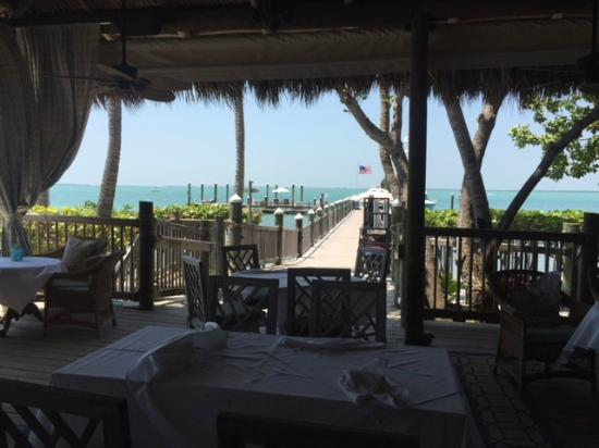 Another dining room view picture of little palm island for 804 salon traverse city