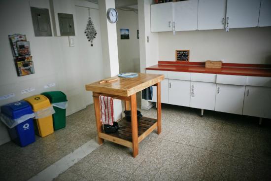 Hostel Urbano : La cocina, nuestra isla