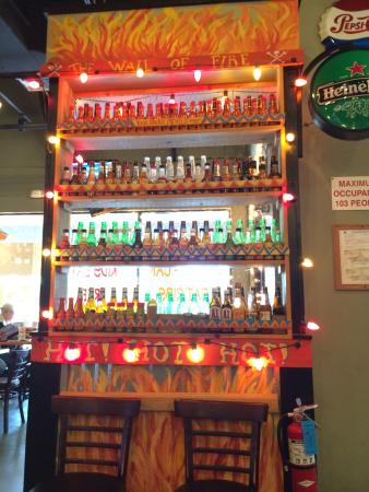 Lucille's Bad To The Bone BBQ: Wall of Fire (hot sauces)