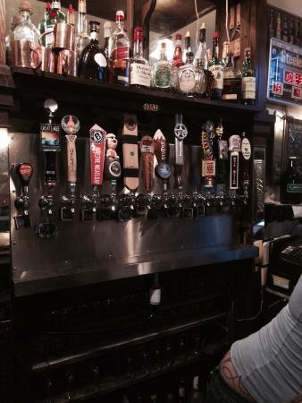 Brackenridge, Pennsylvania:: Chalkboard beer selection