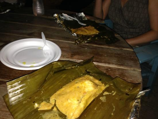 Lobster Pot: A tamal
