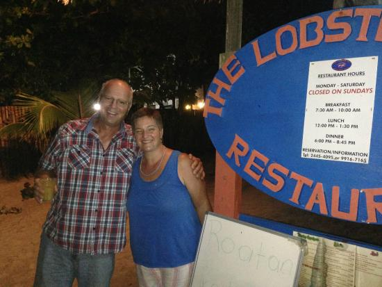 Lobster Pot: Stan and Joan.