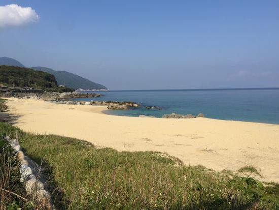 Nagata Inakahama: 初めてきたいなか浜です。