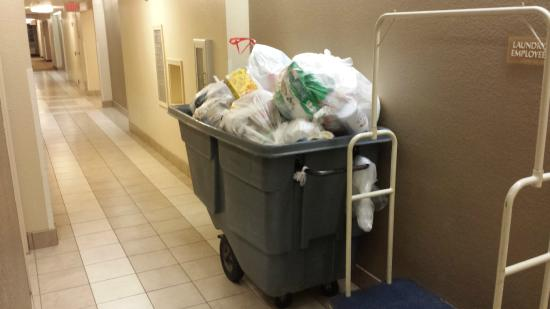 Candlewood Suites Dallas Park Central: Rolling landfill outside of my room EVERY SINGLE NIGHT.