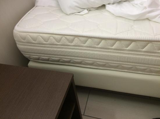 Materasso a molle durissimo foto di hotel lido mazzini for Materassi dorelan recensioni