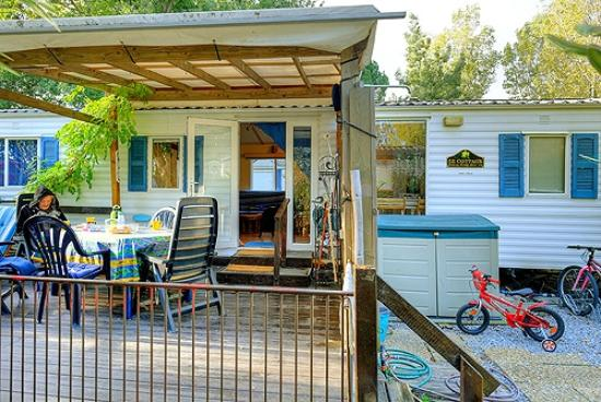 Camping La Roseraie : le mobilhome