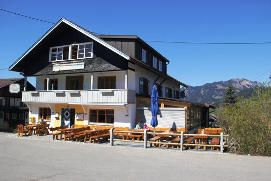 Berggasthof Sonne : Vom Pakplatz aus gsehen