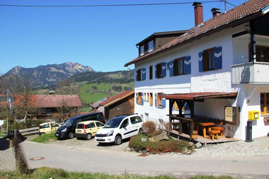 Berggasthof Sonne : seitlicher Blick