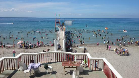 Pool beach area picture of morong star beach resort and hotel morong tripadvisor for Beach resort in morong bataan with swimming pool