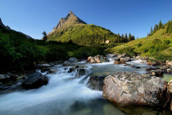 Sankt Anton am Arlberg, Østrig: Berge
