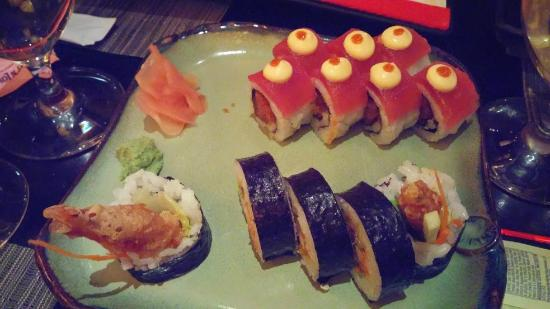 Jia : Atomic Roll and Soft Shell Crab Roll
