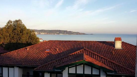 Azureva Hendaye: Vue depuis le balcon de la chambre