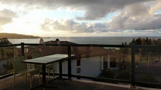 Azureva Hendaye: Terrasse du restaurant