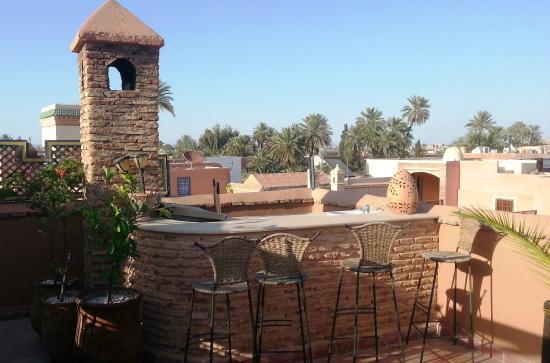 Ryad NaNa : La terrasse