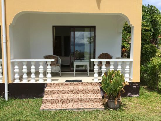 Rosemary's Guesthouse: LA VERANDA DELLA STANZA NR. 4
