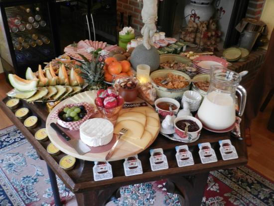 Gasthof De Pastorij: ontbijt