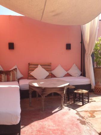 Riad Safa: terrazza