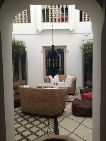 Riad Safa: patio