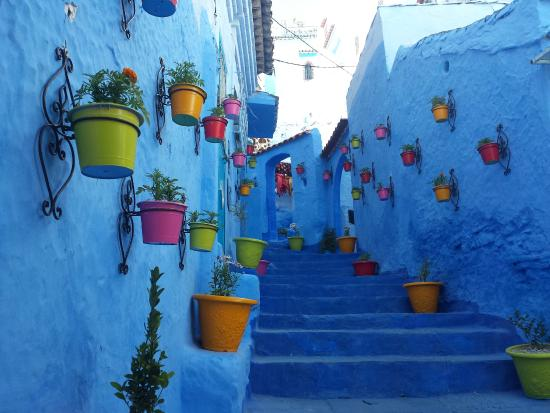 الزرقاء :شِفْشَاون المغربية chefchaouen-old-city