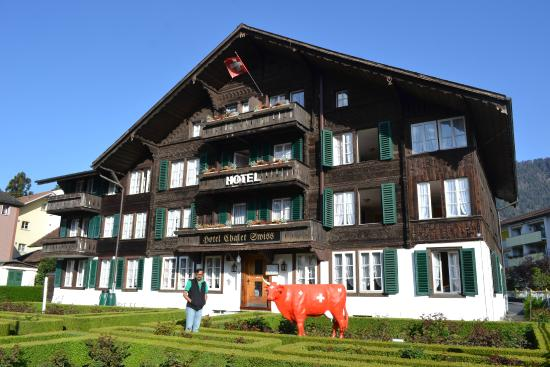 Hotel Chalet Swiss: View of the Hotel facade