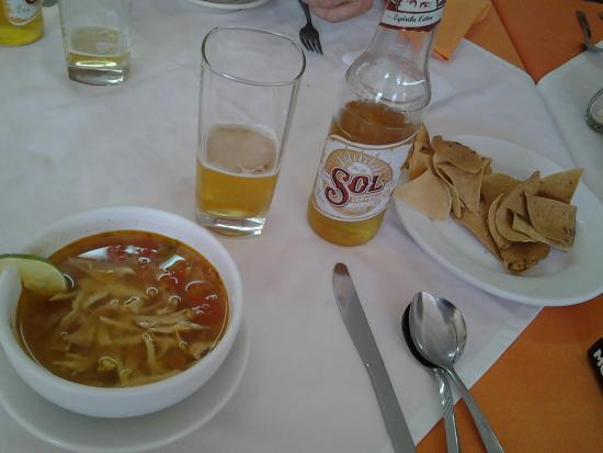 Cana Nah: sopa de lime