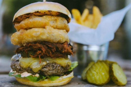 La Cantina Burger Picture Of La Cantina Street Kitchen