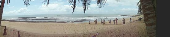Elmina, Gana: beach area