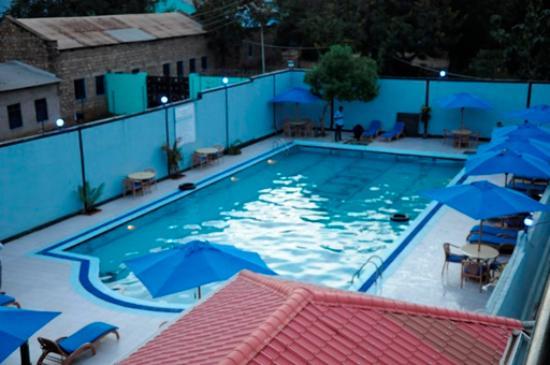 Dembesh Swimming Pool Picture Of Dembesh Hotel Juba Juba Tripadvisor
