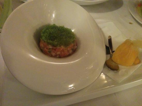 Cavalier : That salmon tartare