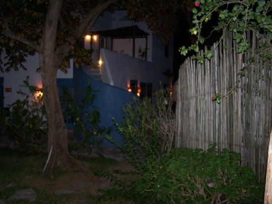 Tamarindo Bed and Breakfast: Courtyard