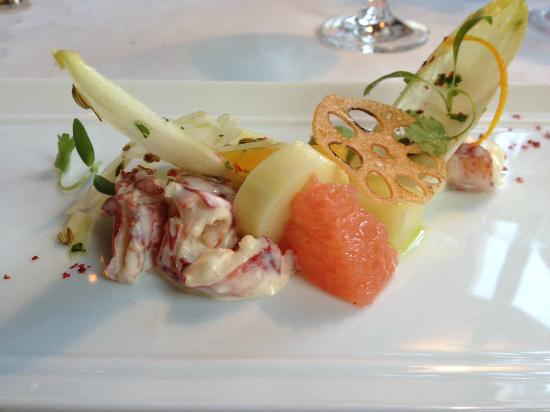 Washington, VA: lobster salad