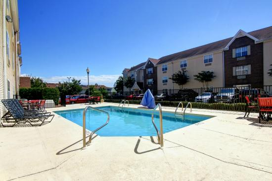 Home Towne Suites - Montgomery: Cool off in our outdoor swimming pool