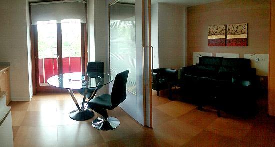 Abarco Apartaments : Le coin salon