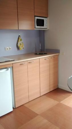Abarco Apartaments : Le coin cuisine