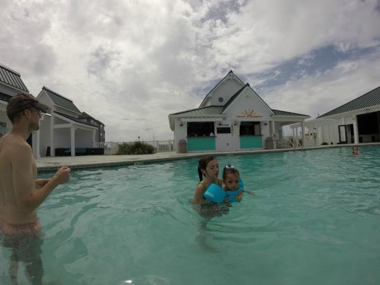 Spa Koru: The pool in the Beach Klub