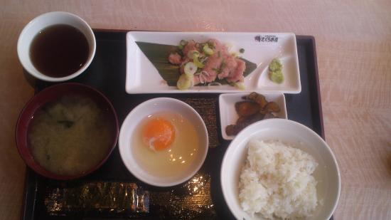 Sakurasuisan Wakoten: ネギトロ定食・・・・だったような・・・