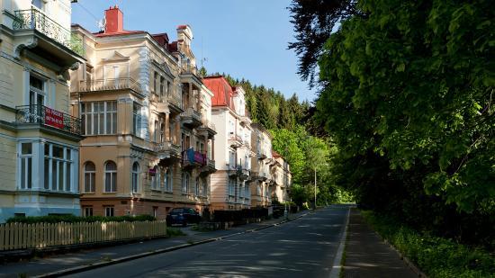"""Hotel Villa Gloria Marienbad: Вилла """"Глория"""""""