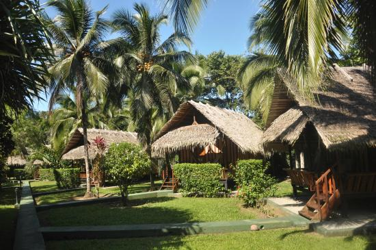 Coco Loco Lodge: bungalows