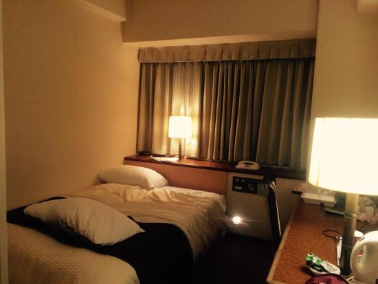 Central Hotel: シングル喫煙。リニューアルしていない部屋。