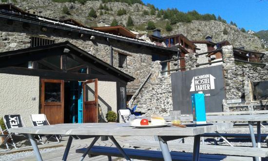 Mountain Hostel Tarter: Vista exterior