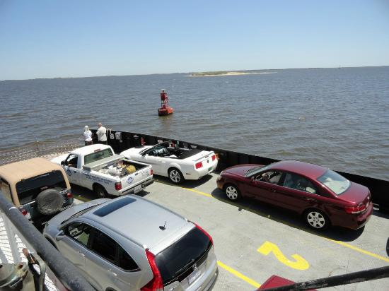 Southport Marina: Open deck car ferry