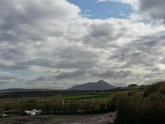 Ocean Lodge More Views Of Croagh Patrick From Hotel