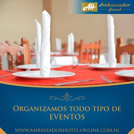 Ambassador Hotel: Para tus reuniones sociales o empresariales