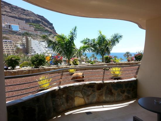 Taurito, إسبانيا: terraza