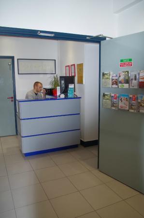 Hôtel Faidherbe : accueil réception
