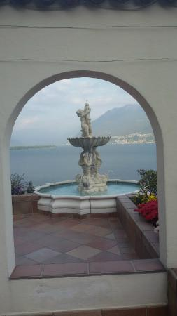 Boutique-Hotel La Rocca : Am Eingang zum Hotel