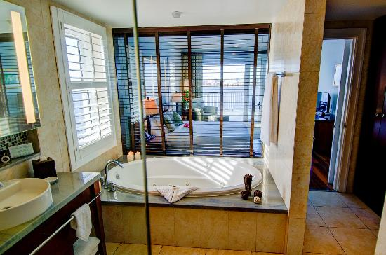 Newstead Belmont Hills Hotel: Suite Bathroom
