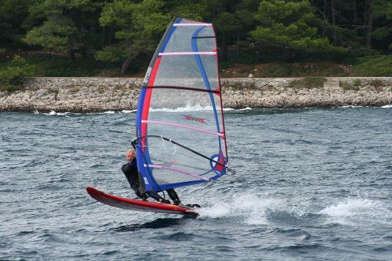 Mali Losinj, Kroatien: Active vacation-surfing